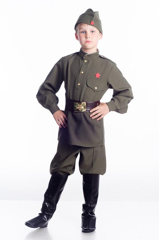 Сшить своими руками костюм солдата для мальчика